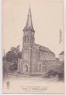 CPA -  1. MONT ST ELOI Avant La Terrible Guerre L'église Vue De La Place - France