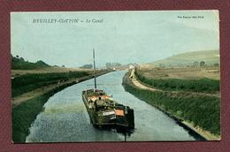 """HEUILLEY-COTTON  (52) : """" LE CANAL """" - Montier-en-Der"""