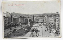 AK 0308  Linz An Der Donau - Franz-Josef-Platz / Verlag Stengel & Co Um 1909 - Linz