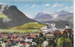 AK 0308  Bludenz Mit Scesaplana - Verlag Purger & Co Um 1910-20 - Bludenz