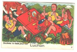 31 , Carte A Systeme , LUCHON , * 399 94 - Luchon