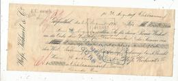 Traite , Prima-Wechsel ,Allemagne ,GRÄFENTHAL ,1906, Weifs, Kühnert & Cie, VOIR TIMBRES ,3 Scans, Frais Fr :1.65 E - Bills Of Exchange