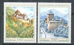 251 LIECHTENSTEIN 2010 - Yvert 1510/11 - Chateau Architecture - Neuf ** (MNH) Sans Trace De Charniere - Ungebraucht
