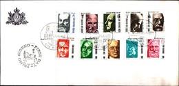 13315a)F.D.C.-san Marino Pionieri Della Scienza - 1ª Emissione - 21 Aprile 1982 - FDC