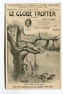 CPA  Pub : Journal Le Globe Trotter    A  VOIR  !!!!!!! - Advertising
