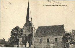 CPA Fontenay-sur-EURE (Dep.28) L'Église (428) - France