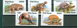 Vietnam - 1990 - Animaux Prehistoriques MNH Non Denteles - Vietnam