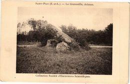 CPA St-PIAT (E.-et-L.) - Le Grenouille Dolmen - Collection Société (33279) - France