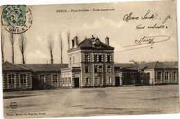 CPA DREUX - Place St-Gilles - École Communale (34269) - Dreux