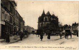 CPA Le NEUBOURG-La Rue Dupont De L'Eure Et La Place Des Tilleuls Un Jour (43330) - Le Neubourg