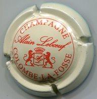 CAPSULE-CHAMPAGNE LEBOEUF Alain N°02 Crème & Rouge - Other