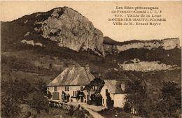CPA Vallée De La Loue - Mouthier-Haute-PIERRE - Villa De M.Ernest Reyes (299964) - France