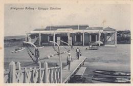ROSIGNANO SOLVAY-LIVORNO-SPIAGGIA CANOTTIERI-CARTOLINA NON VIAGGIATA ANNO 1925-1930 - Livorno