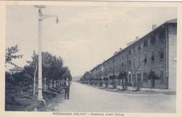ROSIGNANO SOLVAY-LIVORNO-DISPENSA VIVERI SOLVAY-CARTOLINA NON VIAGGIATA ANNO 1925-1930 - Livorno