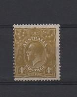 LOT 687 :  AUSTRALIE  N° 81 * (n° Du Timbre écrit  Au Crayon Gris Au Dos) - 1913-36 George V: Heads
