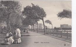 NAPOLI-VILLA NAZIONALE-BELLA ANIMAZIONE-CARTOLINA NON VIAGGIATA ANNO 1910-1920 - Napoli