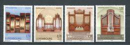 251 LUXEMBOURG 2009 - Yvert 1789/92 - Orgue Musique - Neuf ** (MNH) Sans Trace De Charniere - Neufs