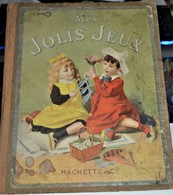 Très Rare Livre De Jeux Anciens 1900 - Toy Memorabilia