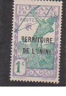 ININI          N°  YVERT  :  1   NEUF AVEC  CHARNIERES      ( 02/38   ) - Inini (1932-1947)