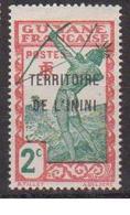 ININI          N°  YVERT  :  2   NEUF AVEC  CHARNIERES      ( 02/38   ) - Inini (1932-1947)