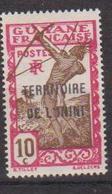 ININI          N°  YVERT  :  5   NEUF AVEC  CHARNIERES      ( 02/38   ) - Inini (1932-1947)