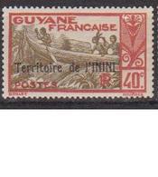 ININI          N°  YVERT  :  11            NEUF AVEC  CHARNIERES      ( 02/38   ) - Inini (1932-1947)