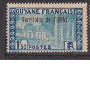 ININI          N°  YVERT  :  21            NEUF AVEC  CHARNIERES      ( 02/38   ) - Inini (1932-1947)