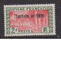 ININI          N°  YVERT  :  24            NEUF AVEC  CHARNIERES      ( 02/38   ) - Inini (1932-1947)