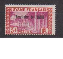 ININI          N°  YVERT  :  25           NEUF AVEC  CHARNIERES      ( 02/38   ) - Inini (1932-1947)