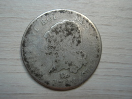 """30 Sols  Dit """" Au Génie """" Type François 1792 En Argent - 1789-1795 Monnaies Constitutionnelles"""