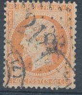 N°23 NUANCE ET OBLITERATION. - 1862 Napoléon III.