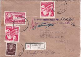 Lettre ROUMANIE - ROMANA - 1948 - Traces De Cachets à La Cire - Banca Nationalà A Romaniei - Recommandé - Covers & Documents