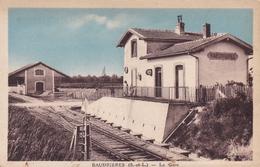 71...Baudieres   LA GARE....523 - Sonstige Gemeinden