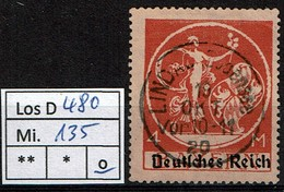 Los D480: DR Mi. 135 I, Gest. - Deutschland