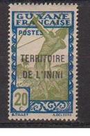 ININI          N°  YVERT  :    53        NEUF AVEC  CHARNIERES      ( 02/38   ) - Inini (1932-1947)