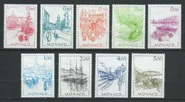 MONACO 1986 . Série N°s 1510 à 1518 . Neufs ** (MNH) - Monaco