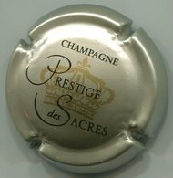 CAPSULE-CHAMPAGNE PRESTIGE DES SACRES N°15 Gris, Noir & Or - Champagne