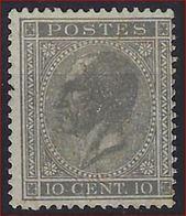Nr. 17A (*) Postfris Zonder Gom En In Goede Staat ; Zie Ook 2 Scans ! Verkoop Aan 12 € ! - 1865-1866 Perfil Izquierdo
