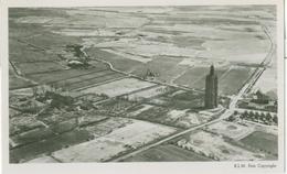 Westkapelle; Luchtfoto Vuurtoren - Niet Gelopen. (Aerofoto K.L.M.) - Westkapelle