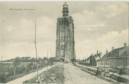 Westkapelle; Gezicht Op Vuurtoren (klederdracht) - Niet Gelopen. (F.B. Den Boer - Middelburg) - Westkapelle