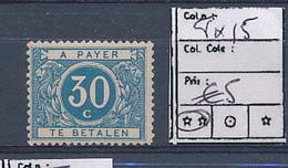 BELGIUM COB TX15 MNH - Timbres