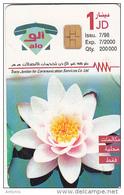 JORDAN - Chrysanthemum Flower, 07/98, Used - Jordanie