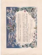 """AIR FRANCE (tampon à Sec) Certificat Vierge"""" Mettez Votre Nom !! (lot 428) - Certificats De Vol"""