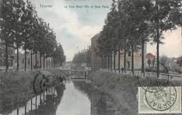 Tournai - La Tour Henri VIII Et Quai Paris - Tournai