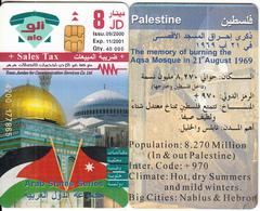 JORDAN - Arab States/Palestine, Tirage 40000, 09/00, Used - Jordanie