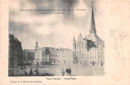 Tournai - Vieux Tournai, Grand Place - Cliché De La Maison Brackeleire - Tournai
