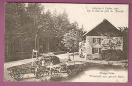 Cpa Auberge à L'arbre Vert Sur La Bas Au Pied Du Climont - 2 Scans - Frankreich