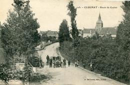 Clugnat  Route De Guéret - France