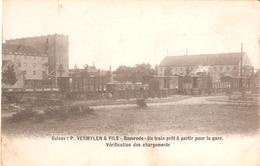 283) BAESRODE - Usines P. Vermeylen & Fils -Un Train Prêt à Partir Pour La Gare - Dendermonde