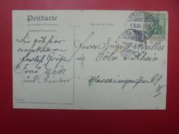 DEUTSCHES REICH 1906 - Briefe U. Dokumente